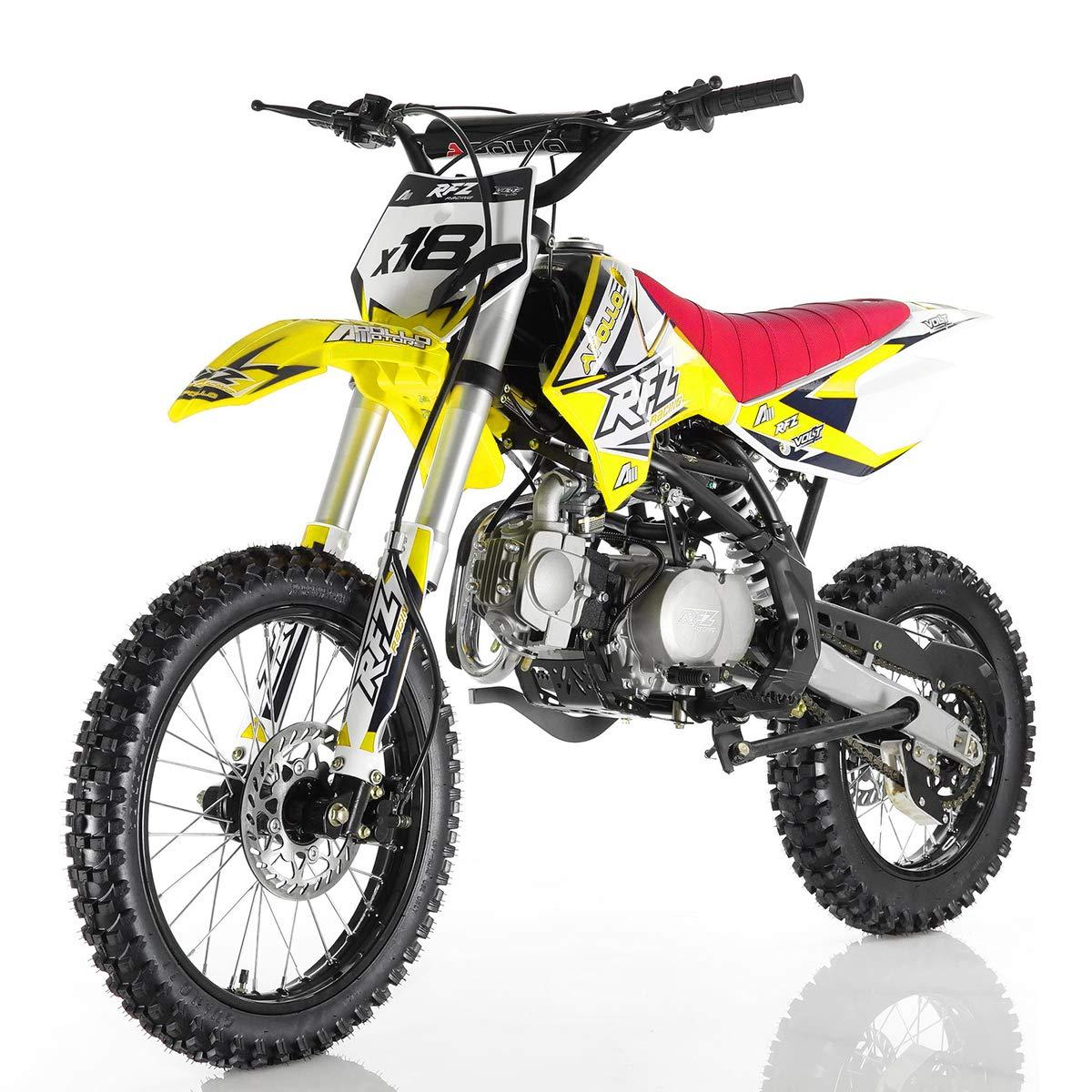 Amazon.com: 125cc Dirt Bike Pit Bike Adults Dirtbikes ...
