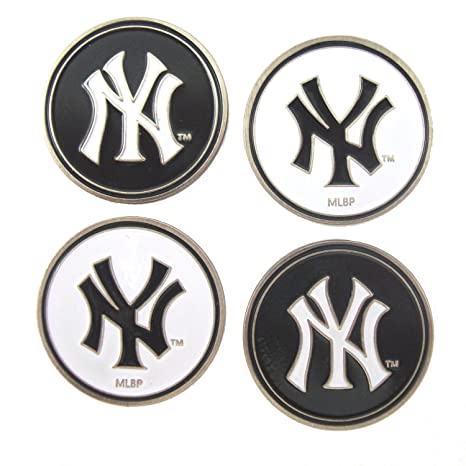 12c4931e043bf1 Image Unavailable. Image not available for. Color: New York Yankees Golf  Ball Markers ...