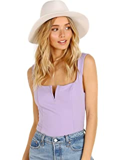 Janessa Leone Women s Packable Marcell Short Brimmed Fedora 76d694078775