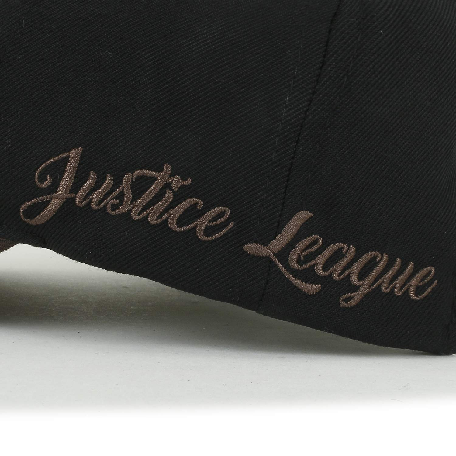 ililily Justice League Embroidery Vintage Baseball Cap Casual Trucker Hat