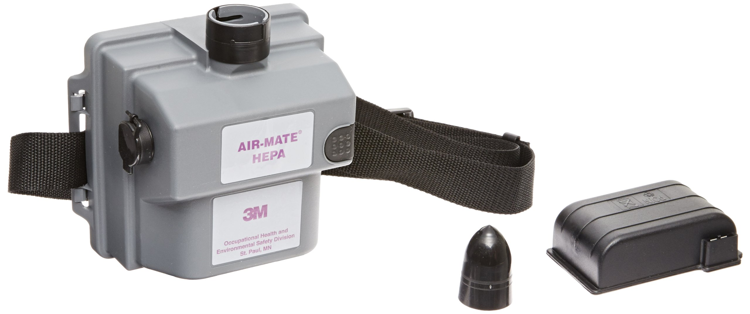 3M Air-Mate Belt-Mounted High Efficiency Powered Air Purifying Respirator(PAPR) Assembly 231-01-30 1/cs, Small Size