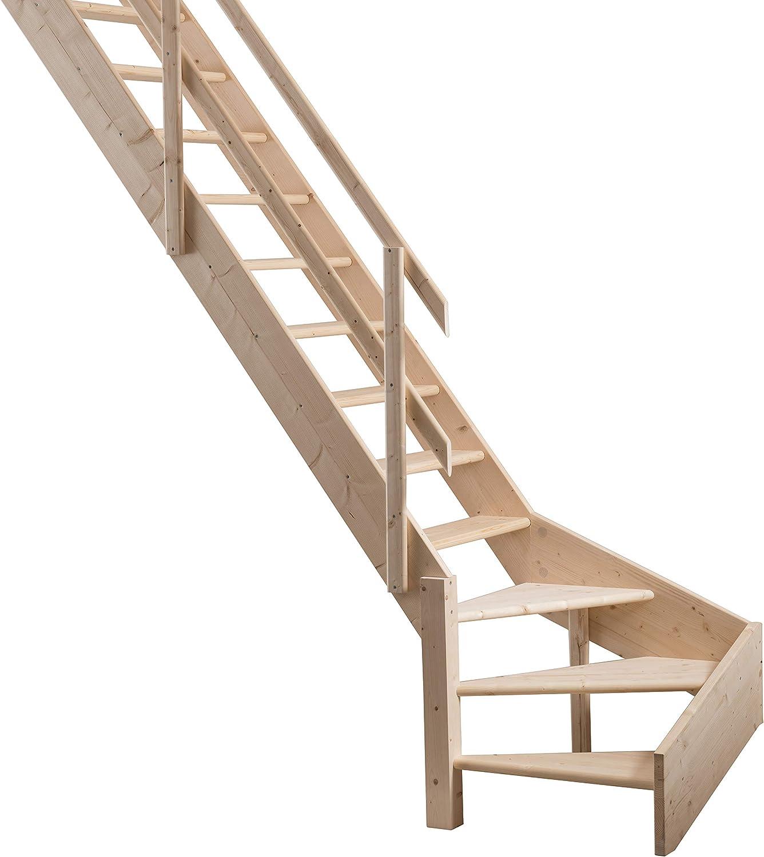 Gran ahorro de espacio escaleras con izquierda a su vez tuberías de suelo para subir de un piso alturas de hasta 3.53 M: Amazon.es: Bricolaje y herramientas