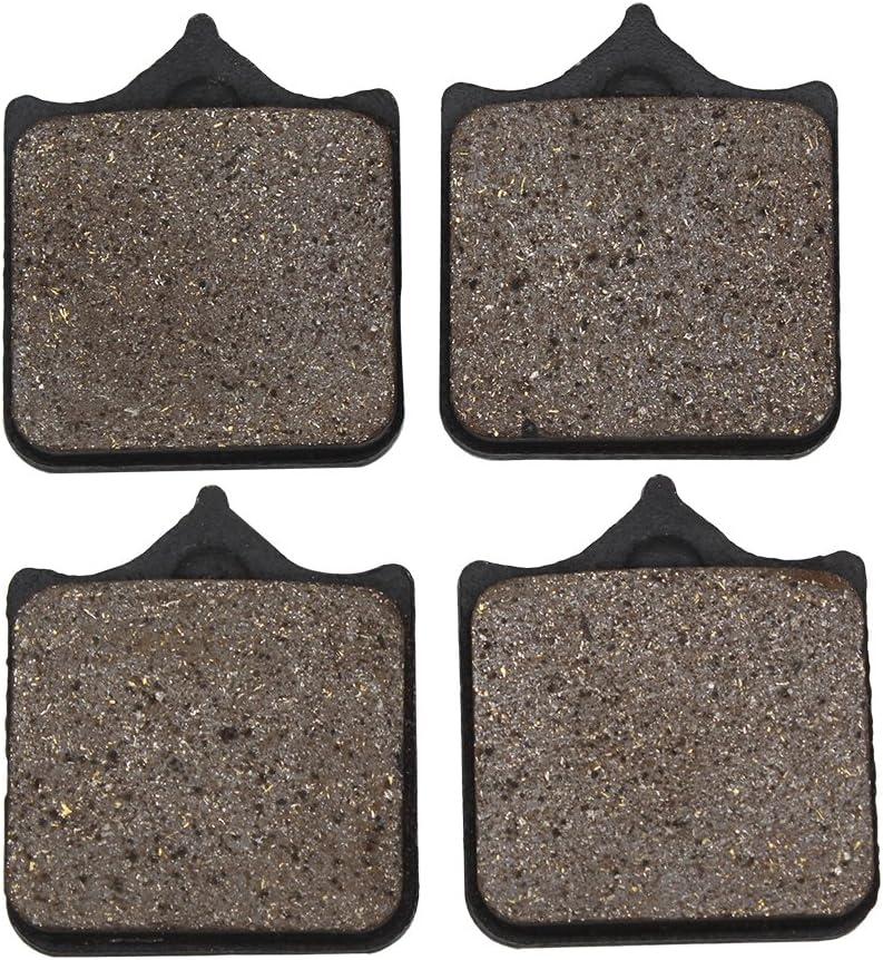 Cyleto Plaquettes de frein avant pour Aprilia RSV1000 R RSV1000R RSV 1000 R Factory 2004-2012 RSV 1000 R Mille 2001-2002 RSV 1000 Mille Radial /étrier 2003