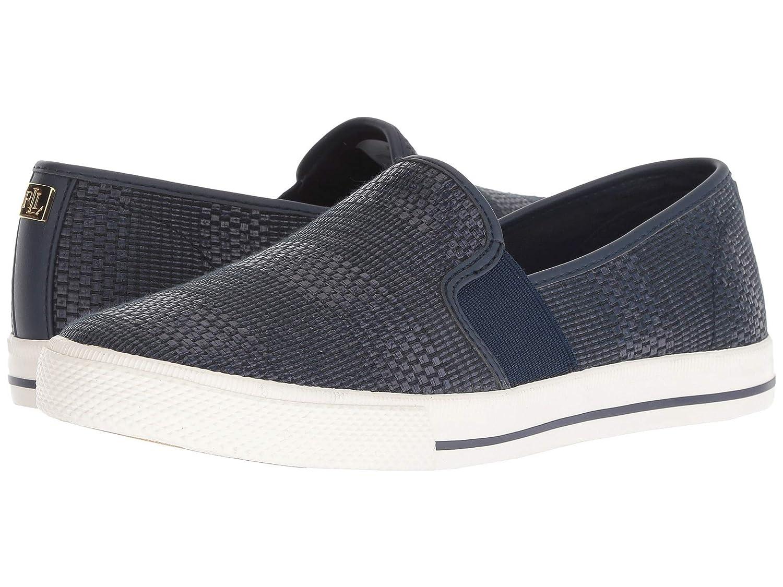 輝く高品質な [LAUREN cm Ralph Lauren(ローレンラルフローレン)] レディースウォーキングシューズカジュアルスニーカー靴 [LAUREN Jinny Sneaker [並行輸入品] cm B07N8FTZT4 ネイビー 25.5 cm B 25.5 cm B|ネイビー, GENERAL STORE:f9ef35d7 --- a0267596.xsph.ru