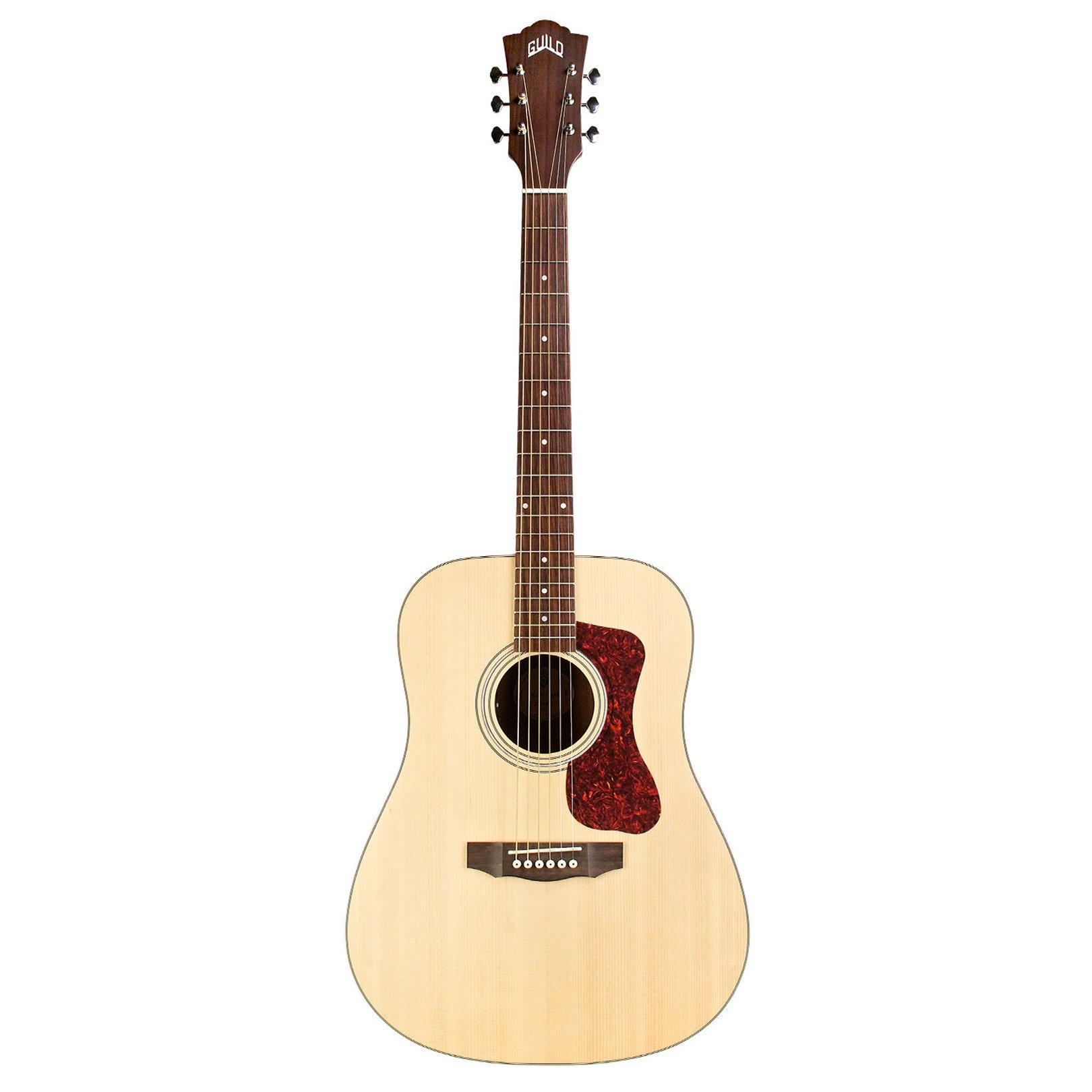 Guild D-240E Acoustic-Electric Guitar in Natural