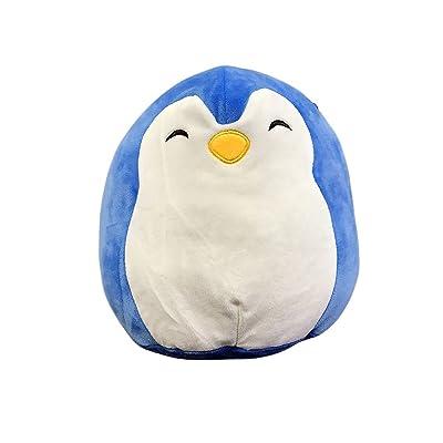 "Kellytoy Squishmallow 13"" Penguin Super Soft Plush Toy Pillow Pet Pal Buddy (Puff The Blue Penguin): Toys & Games"
