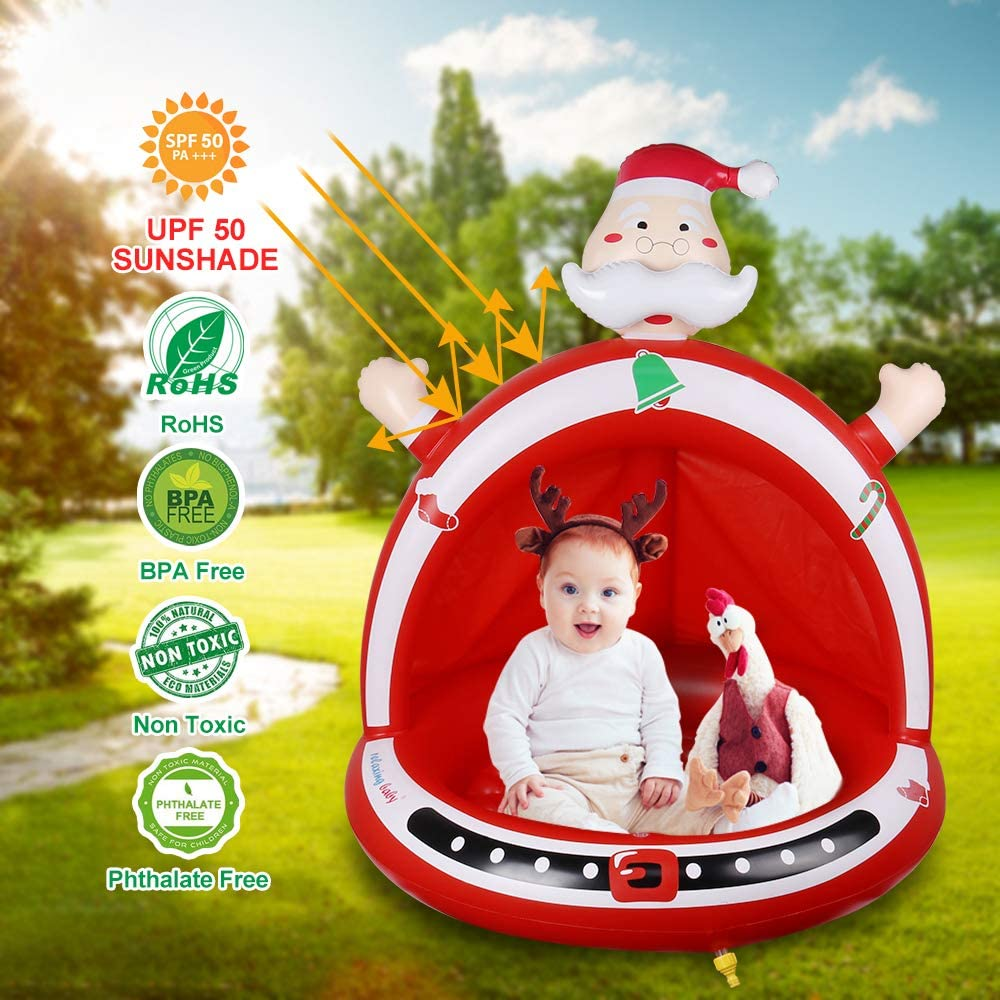 Kids Toy Gifts for Girl /& Boy relaxing baby Inflatable Santa Claus Toy for Christmas Christmas Indoor Decoration Party Game Toy for Kid