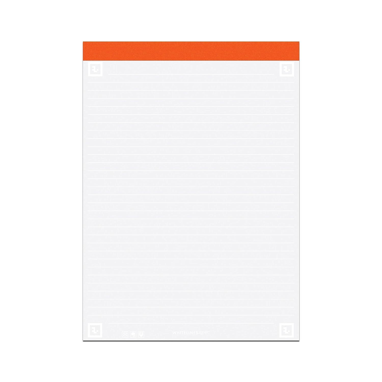Whitelines bloc-notes, Formato lettera, a righe, 40 fogli Roaring Spring Paper Products 17020