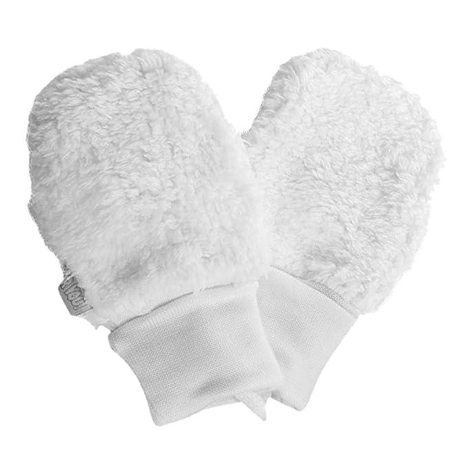 030af24f72b635 For you Fäustlinge Baby Winter Handschuhe Kunstpelz Mädchen Rosa Milchweiß  aus Baumwolle-Futter (Elfenbein