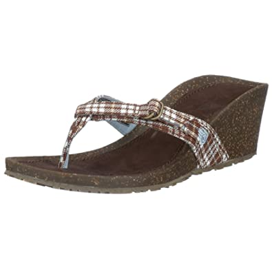 73095cd49 Teva Women s Ventura Thong Wedge Sandal