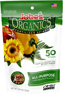 product image for Jobe's Organics All Purpose Fertilizer Spikes, 50 Spikes