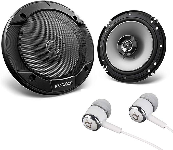 "6-1//2/"" Three Way Speakers.Six Half Inch pair.Auto Sound.w// light.6.5/"" NEW 2"