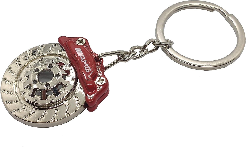 Schlüsselanhänger Typ Bremsscheibe Kompatibel Mit Amg Rot Bekleidung