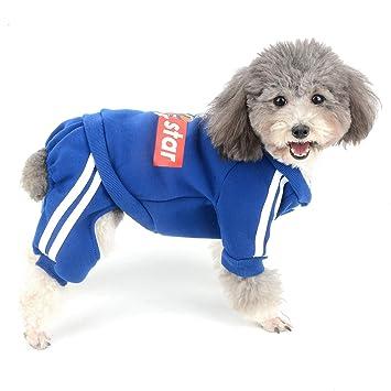 Amazon.com: Ranphy - Sudadera de forro polar para perro ...