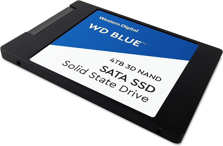 530//560 MB//s 4 TB WD Blue 3D NAND SATA SSD Unit/à allo Stato Solido Interna 2.5