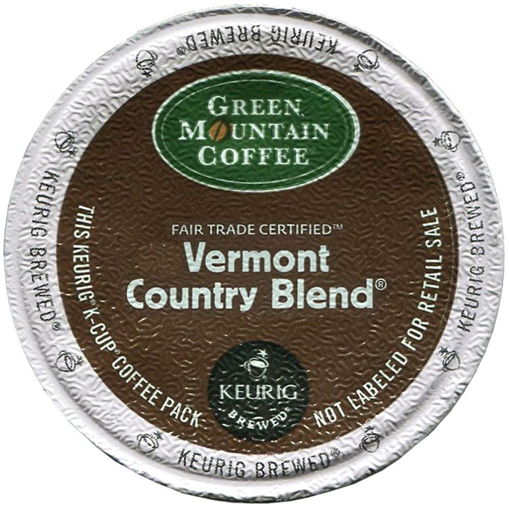 Green Mountain Coffee Keurig Vermont Country Blend K-Cups 24 Ct