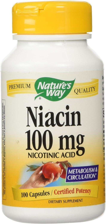 Natures Way Niacin 100Mg 100 Caps