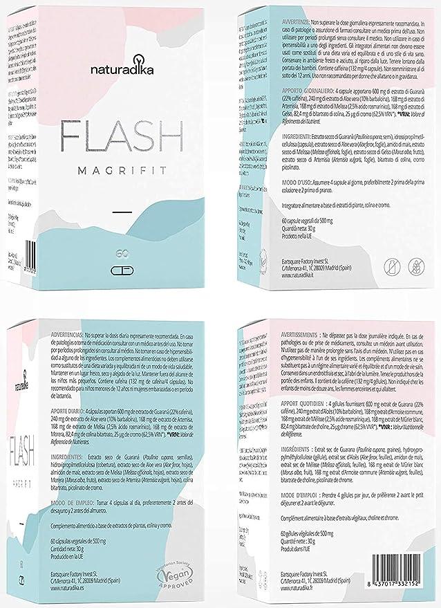 Magrifit Flash - Quemagrasas Potente Y Rapido Para Adelgazar ...