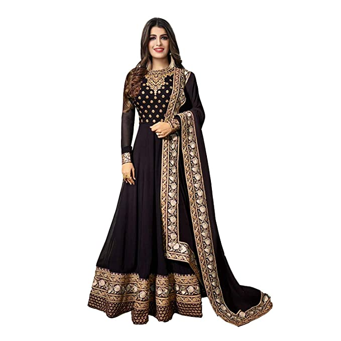 49c5b83fad Women's Anarkali Salwar Kameez Designer Indian Dress Ethnic Party  Embroidered Gown: Amazon.ca: Clothing & Accessories
