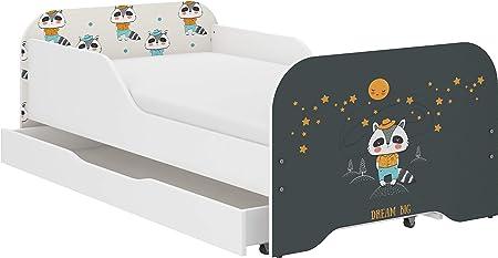iGlobal Miki - Cama infantil con somier y colchón, un cajón ...
