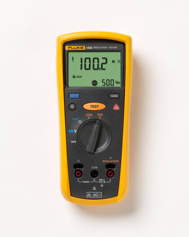 Fluke 1503 Insulation Resistance Tester by Fluke (Image #3)
