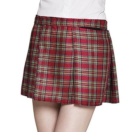 vendita calda online e167b a1408 Boland Kilt Gonnellina Scozzese Donna Mrs Tartan Rosso con Tasca, Colore,  One Size 81226