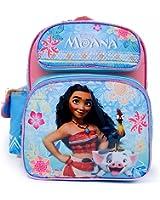 "Disney Moana School Backpack 12"" inches Medium Girls Book Bag-Blue"