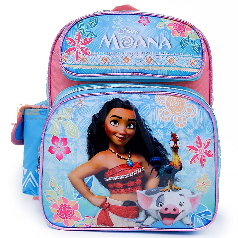 disney moana school backpack 12 inches medium girls