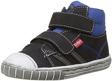 e92fef6d3060f8 Kickers Bumper, Baskets Hautes garçon: Amazon.fr: Chaussures et Sacs