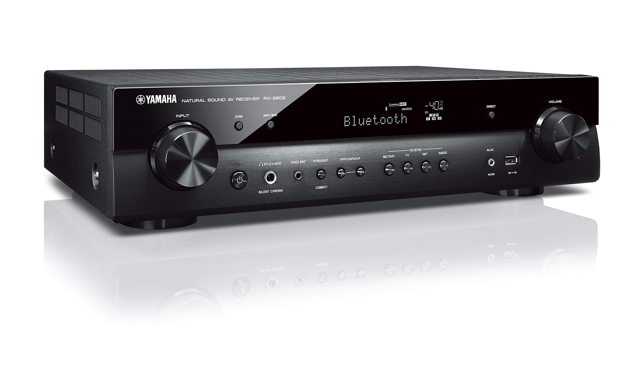 Yamaha RX-S602 Slim Audio & Video Component Receiver Slimline by Yamaha Audio (Image #4)
