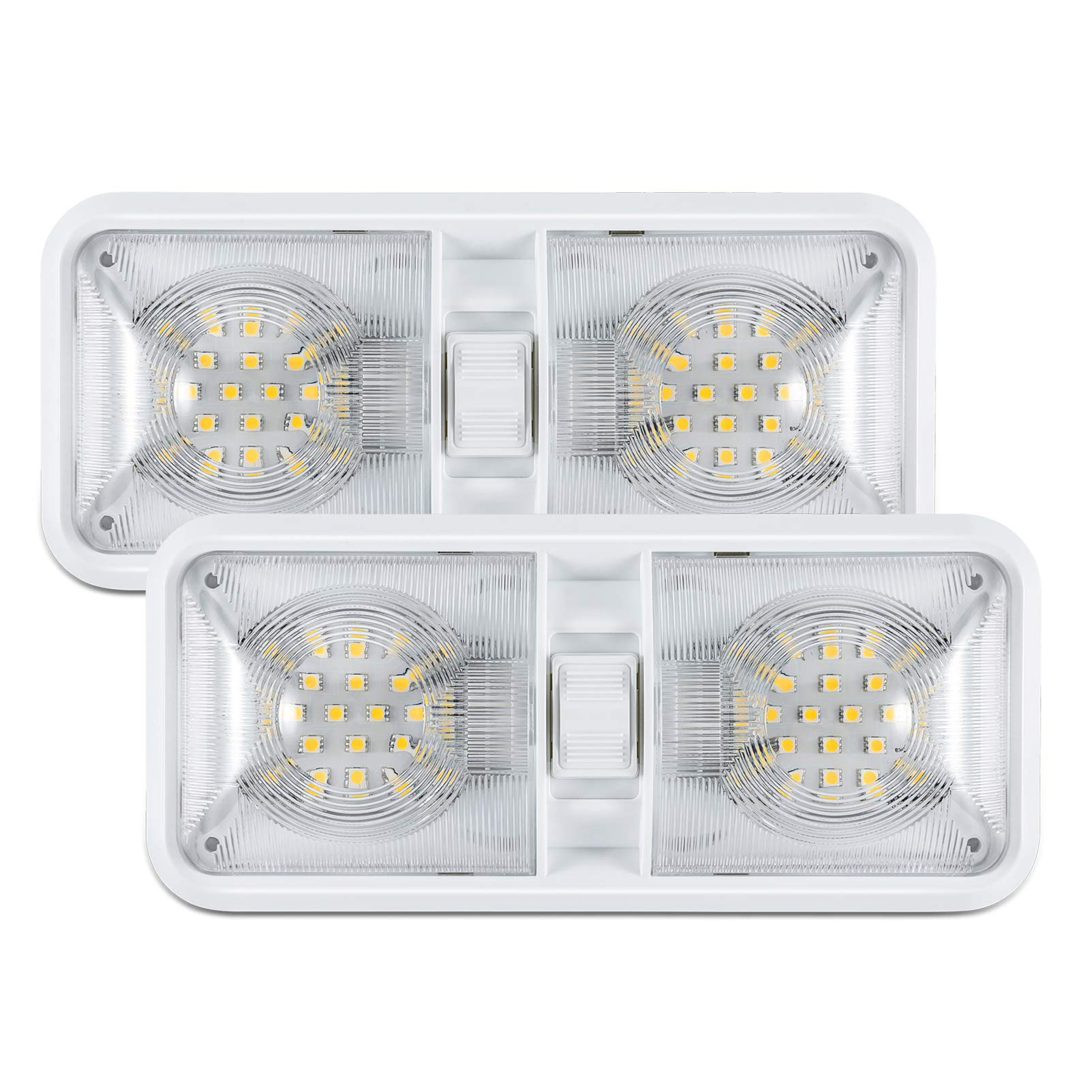 Kohree 12V Led RV Ceiling Dome Light RV Interior Lighting