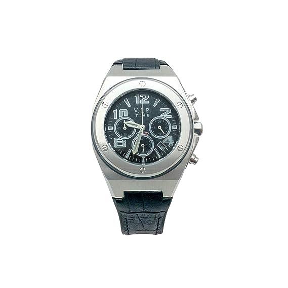 Reloj V.I.P TIME Negro