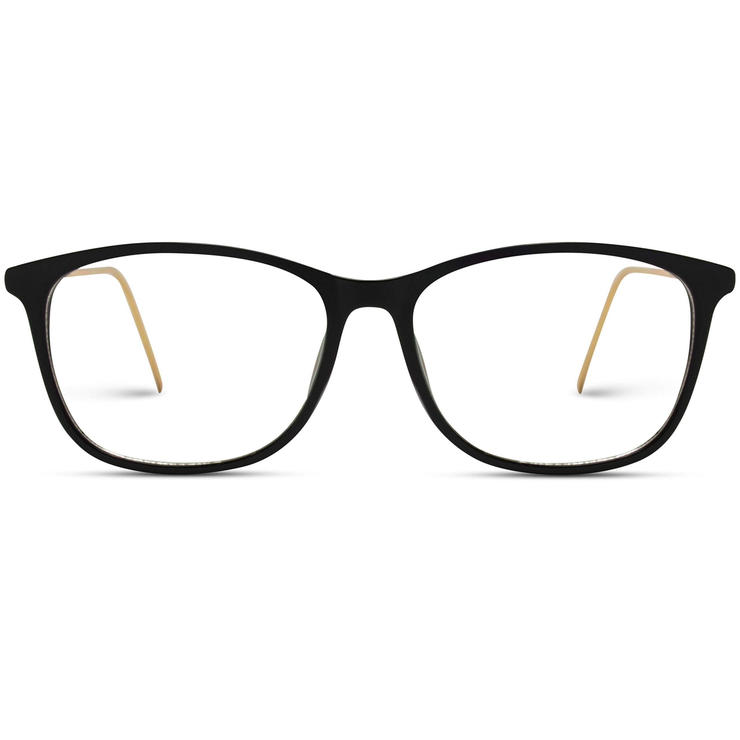 WearMe Pro - Rectangular Slim Elegant Fashion Clear Glasses by WearMe Pro