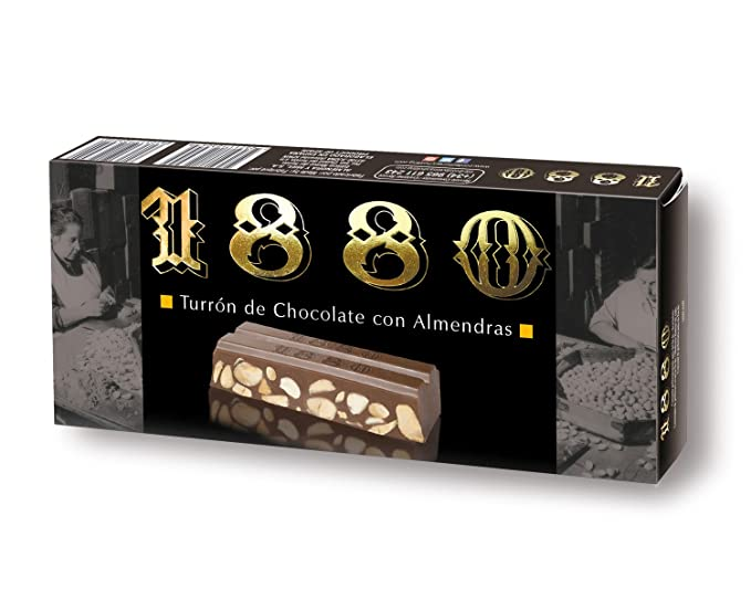 Chocolate Con Almendras 1880 250G