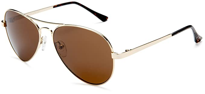 brown lens aviator sunglasses  Amazon.com: Andrea Jovine Women\u0027s A652 Aviator Sunglasses,Gold ...