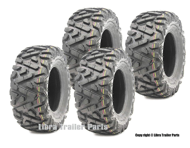 Set of 4 New WANDA ATV//UTV Tires 25x8-12 Front /& 25x10-12 Rear //6PR P350-10163//10165 /…