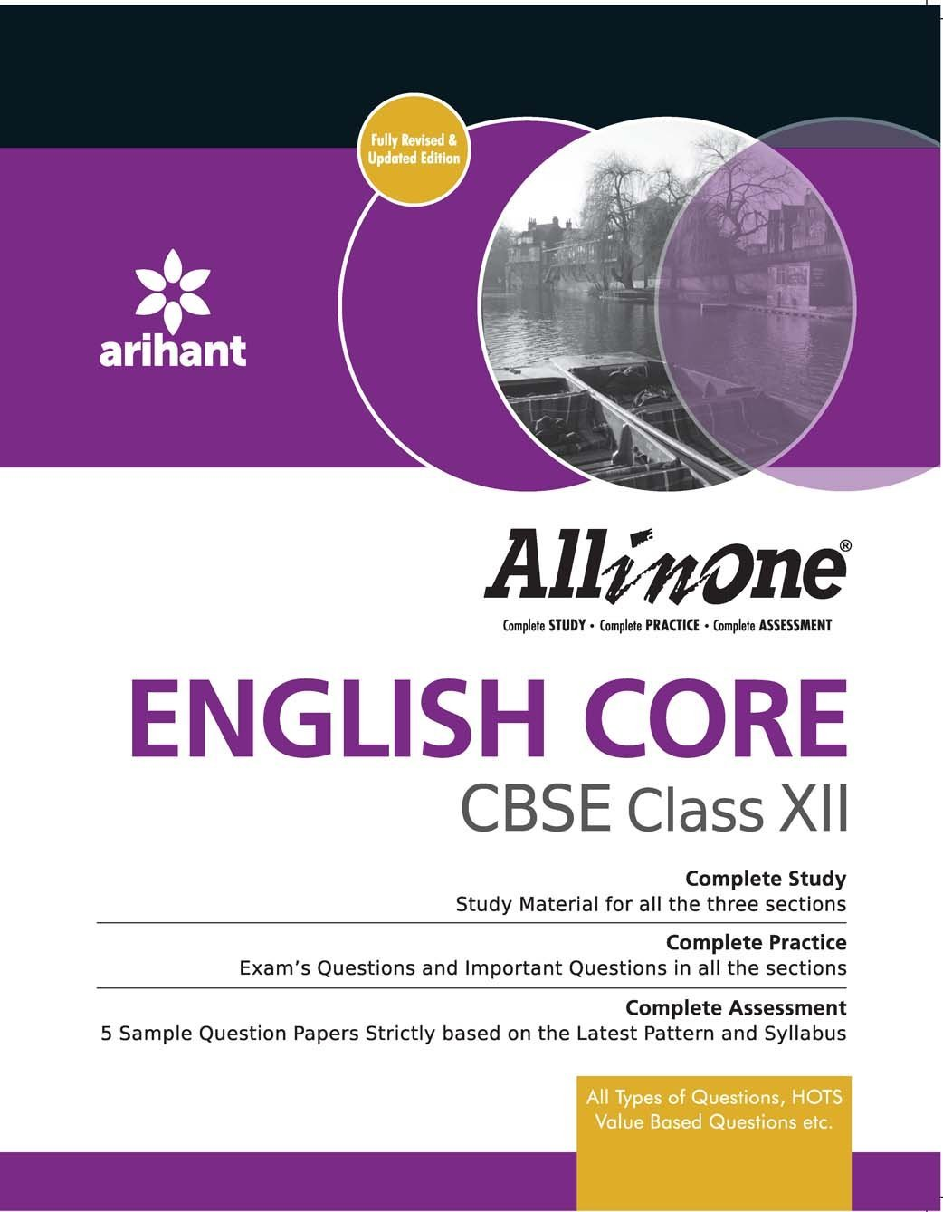 CBSE All in One ENGLISH CORE Class 12th: Amazon.in: Vibha Gupta, Kapil  Sabarwal: Books