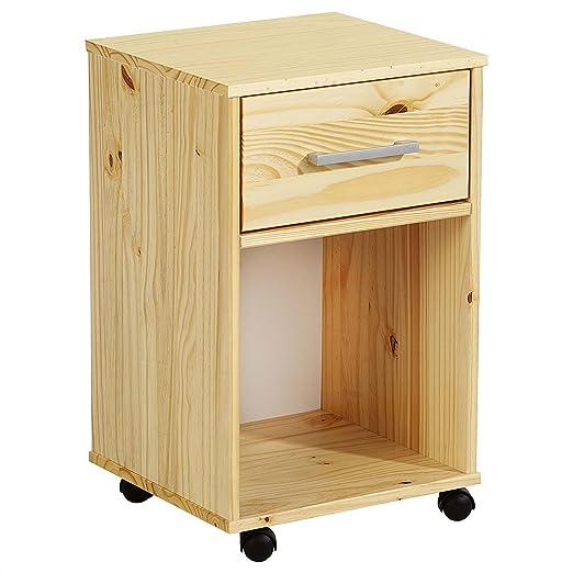 Cajonera Container cajón contenedor Logo, madera maciza de pino en ...