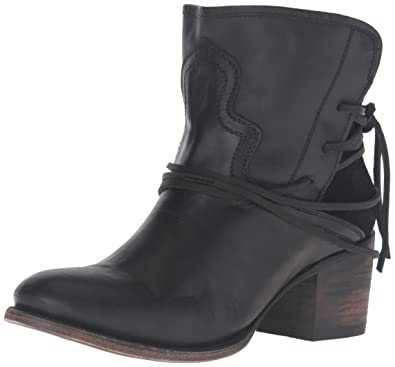 c7fb3f70e28 Freebird Women s Casey Ankle Bootie Black 6 ...