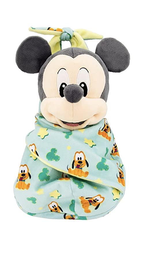 c4d569e49f9 Amazon.com  Disney Parks Baby Mickey Mouse in a Pouch Blanket Plush ...