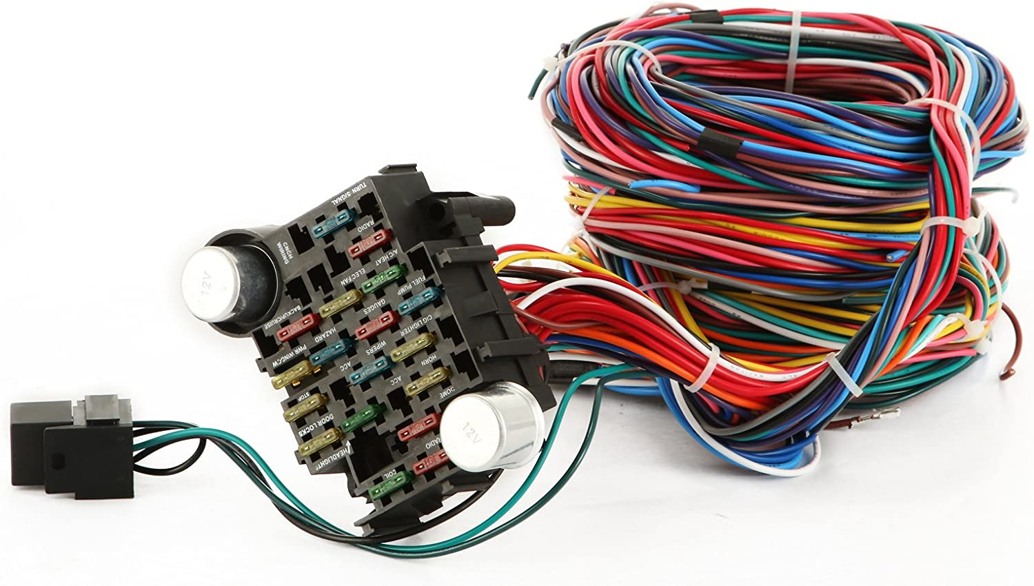 Hotrods. EZ Wiring 21 Circuit Color Wiring Harness Kit Chevy Mopar Ford