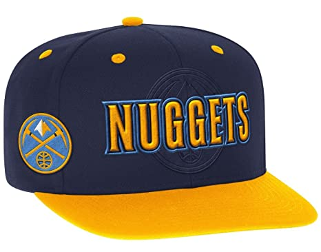 new styles 8eab1 54af6 Image Unavailable. Image not available for. Color  Denver Nuggets Adidas  2016 NBA Draft Day Authentic Snap Back Hat