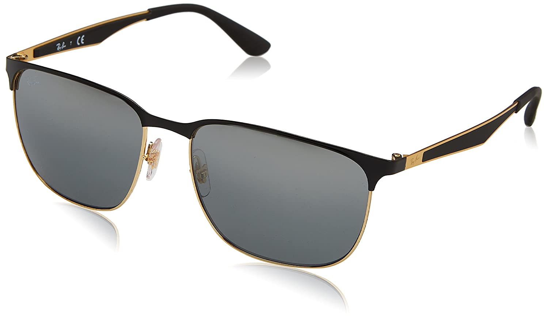 af6a5290cc6 RAYBAN Unisex s 0RB3569 187 88 59 Sunglasses