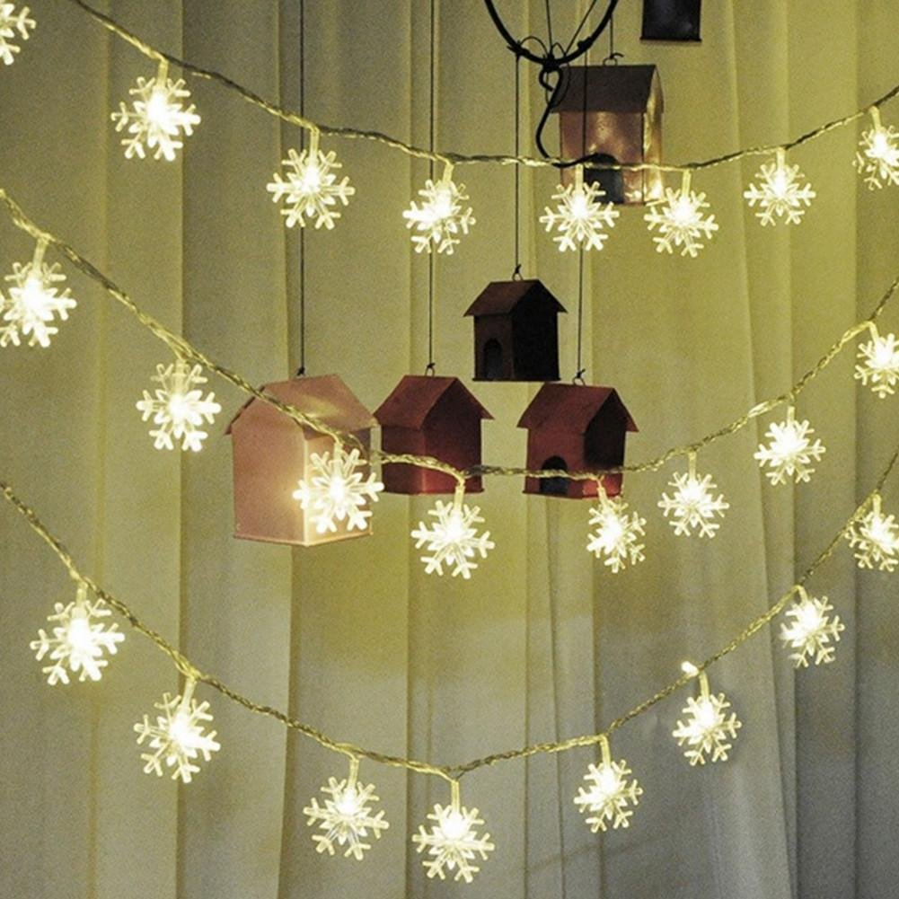 20 heads led snowflake Wedding decoration Solar energy color light by DMMSS (Image #6)