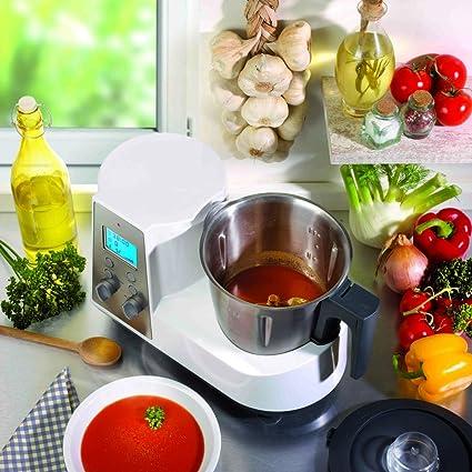 Harper CUISIOPRO - Procesador de alimentos, con potencia de 1000 W y capacidad de 2 litros, color blanco: Amazon.es: Hogar