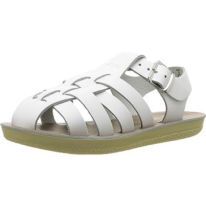 426fe4cae53 Salt Water Sandals Hoy Shoes Unisex Sun-San - Sailors (Toddler Little Kid)  White 8 M US Toddler
