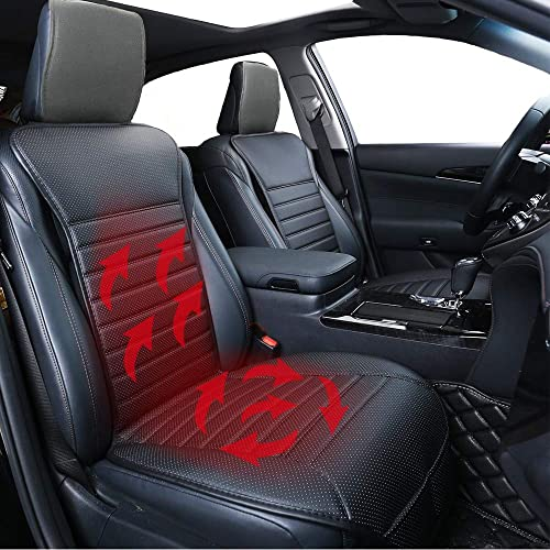 Big Ant Heated Seat Cushion 12V Sleek Design Nonslip Car Heat Cushions Cover Pad