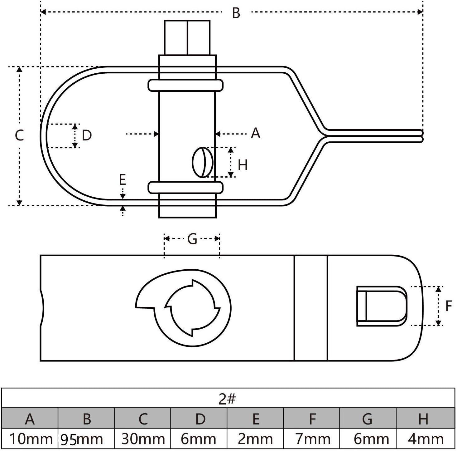 Amagabeli Garden Home 2MM X 12.5M X 2PCS Fil de Tension Rouleau de Fil M/étallique et Tendeurs /à Fil Barbel/é Longeur 95mm Enduit de PVC de M/étal Rev/êtu de Plastique Blanc pour Cl/ôture de Jardin