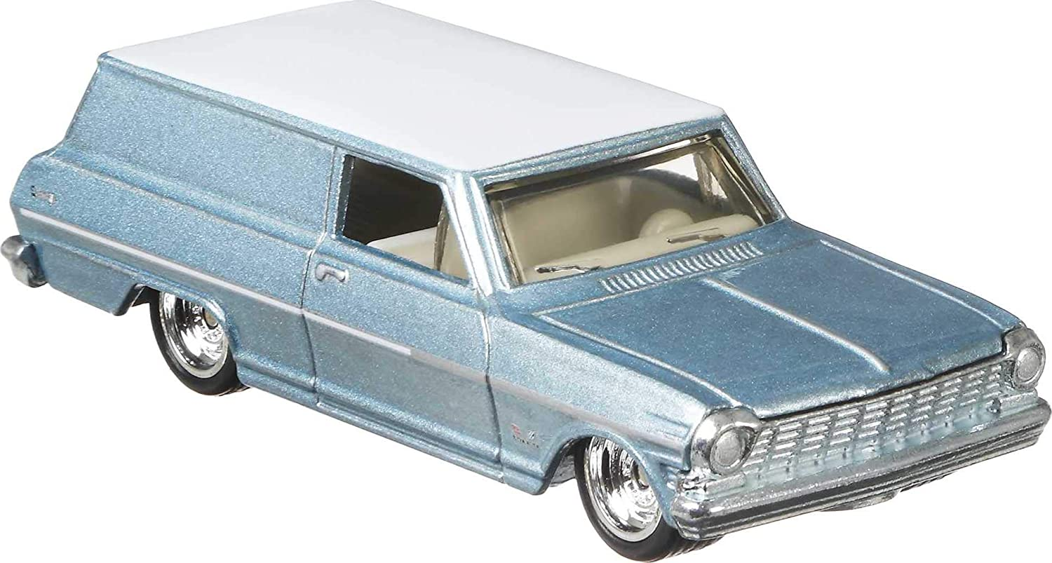 Hot Wheels Car Culture Circuit Legends 64 Chevy Nova Panel Vehicle for 3 Kids Years Old /& Up Premium Collection of Car Culture 1:64 Scale Vehicle
