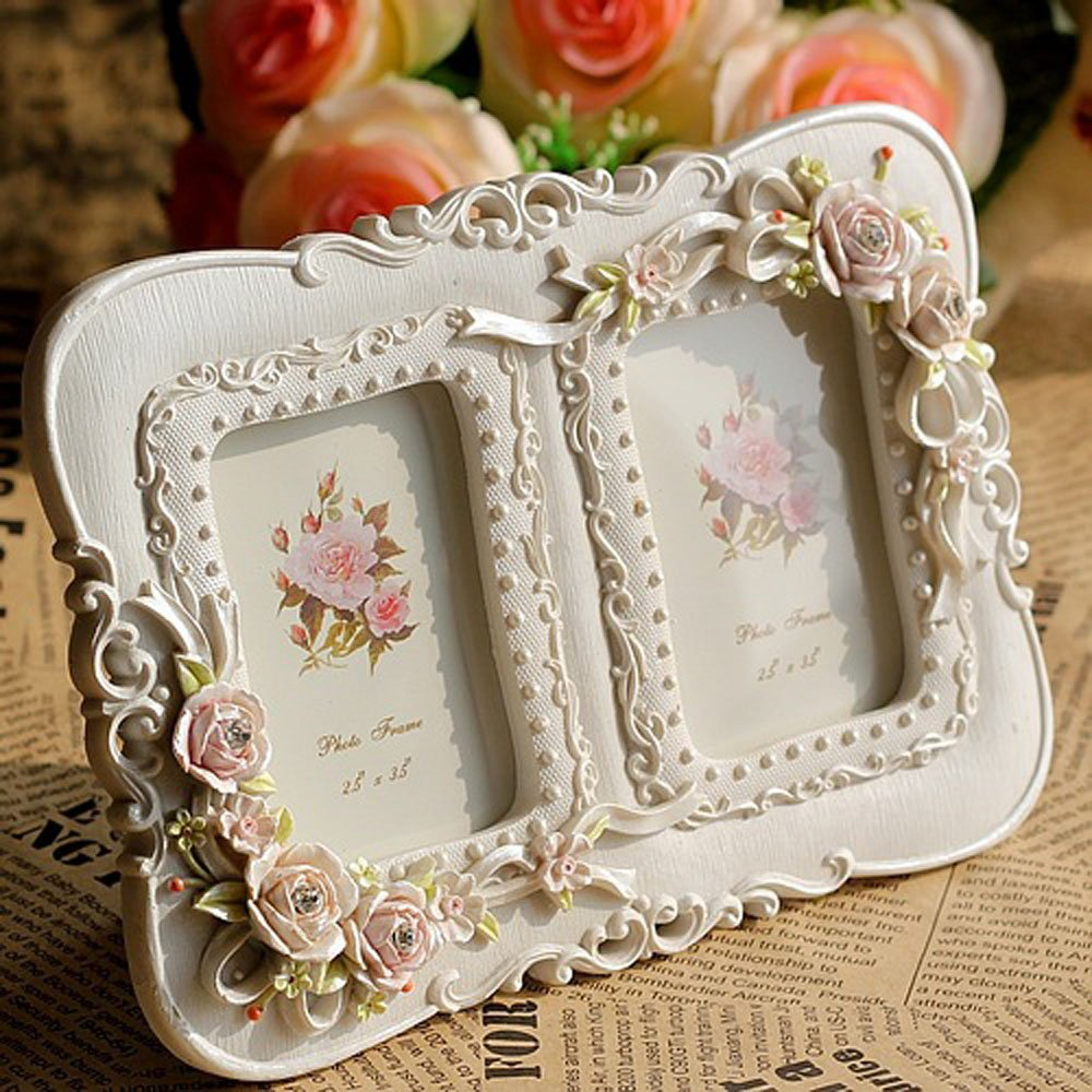 Amazon.com - Giftgarden 2.5x3.5 Double Picture Frames Collage Two ...